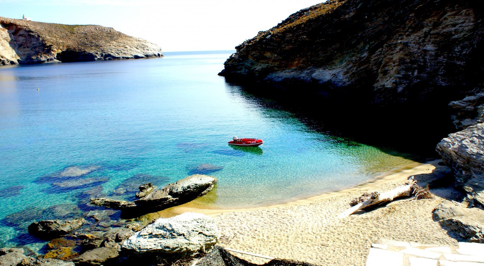 Andros Beaches lowdown Andros Greece Blog